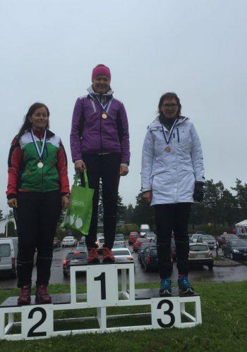 Sari Jetsonen - PySu sprint 2018 pronssia