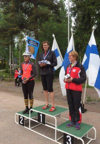 Sari Jetsonen - PySu 2018 keskimatka kultaa